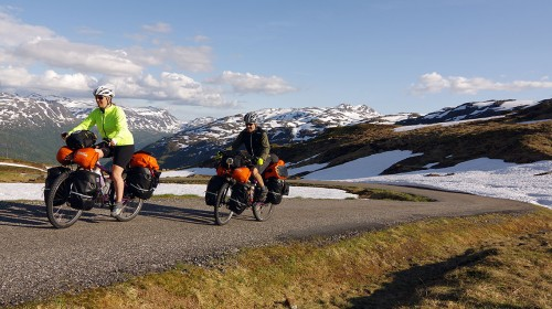 In training! (Odda, Norway – km 265)