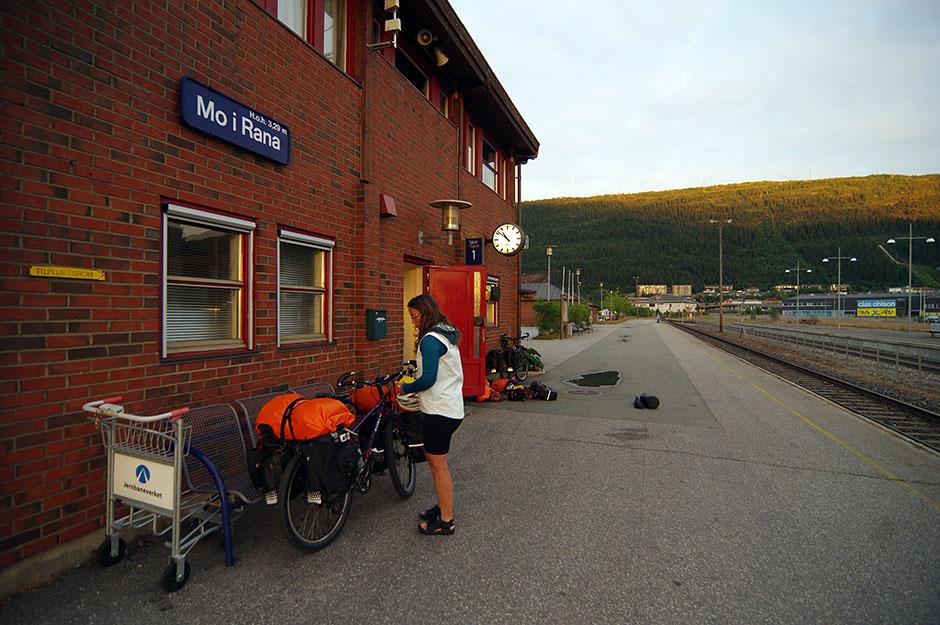 Station de train de  Mo i Rana