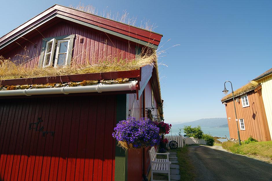 Quartier historique de Mo i Rana:  Moholmen