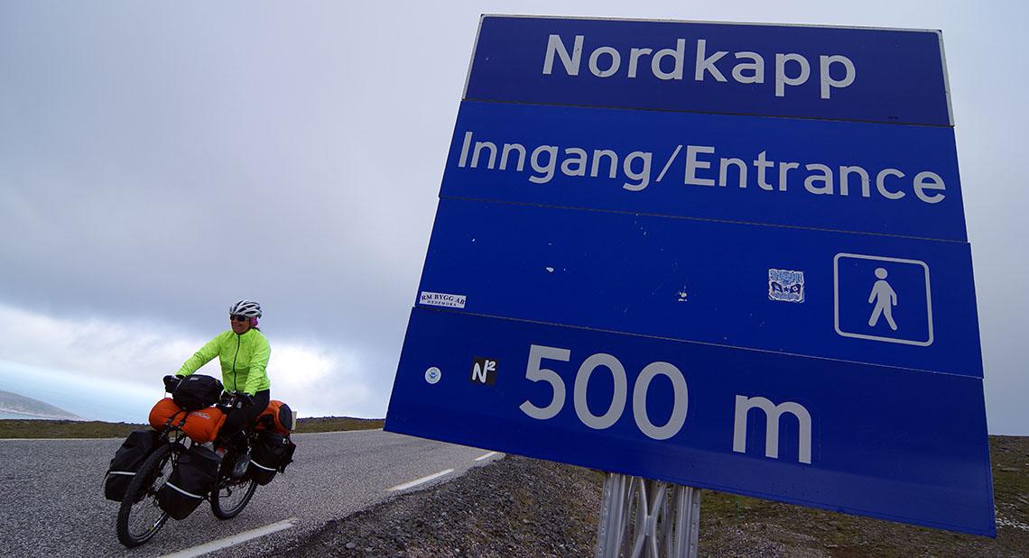Cap nord et cap vers le sud! (Karasjok/Kárášjohka, Norvège – KM 3110)