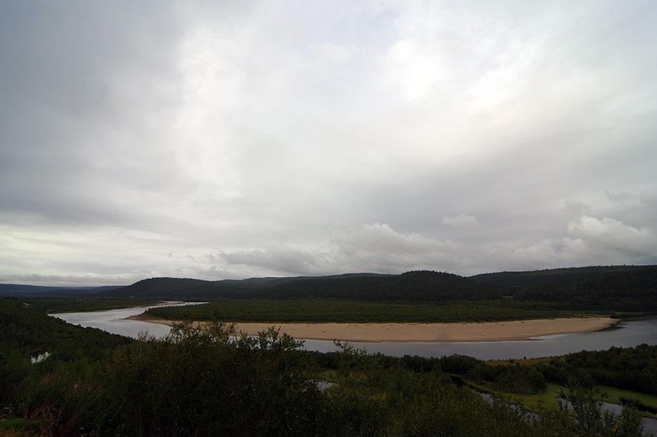 Rivière Karasjok. Finnmark.