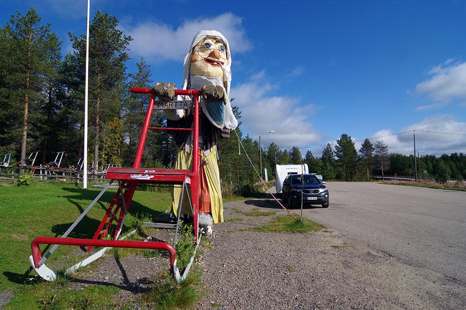 Ça commençait à être rigolo rouler en Finlande! ;-) Lappi.